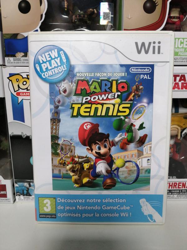 Image article Mario Power Tennis Wii