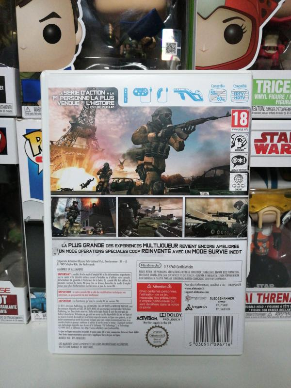 Image article Call of duty Modern Warfare 3 Wii