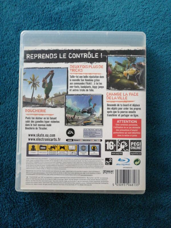Image article Skate 2 Ps3