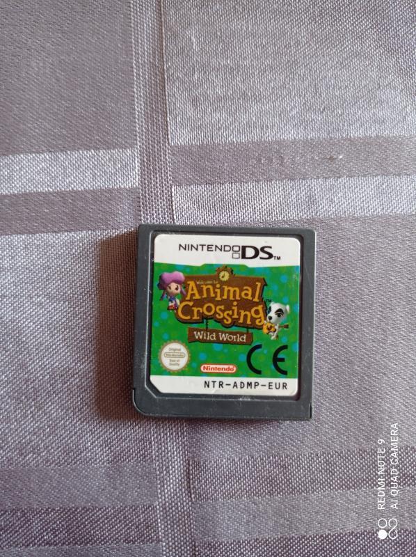 Image article Nintendo DS - Animal crossing wild world
