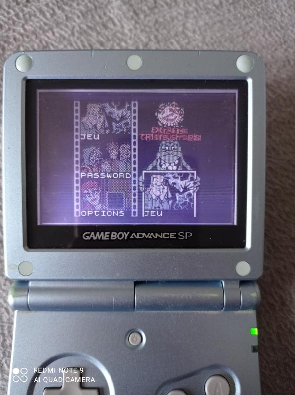 Image article Nintendo - Game boy color - Extreme ghostbusters