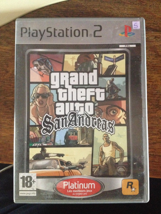 Image article Grand theft auto GTA san andreas