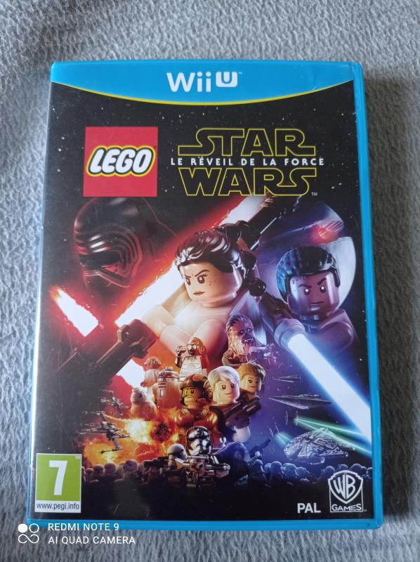 Image article Nintendo - WiiU - Lego Star Wars - Le réveil de la force