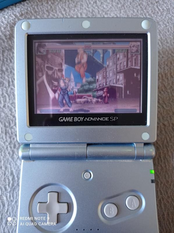 Image article Nintendo - Game boy advance - Super Street Fighter 2 : Turbo Revival