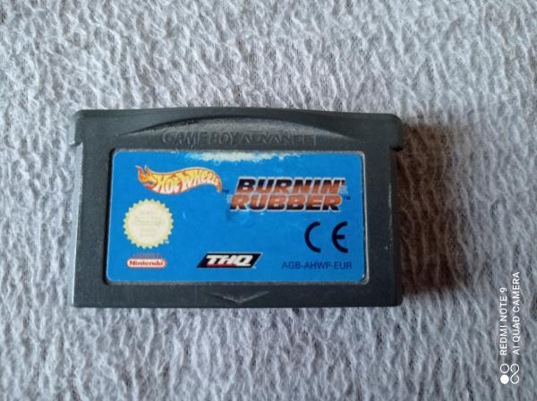 Image article Nintendo - Game boy advance - Hot Wheels Burnin' Rubber