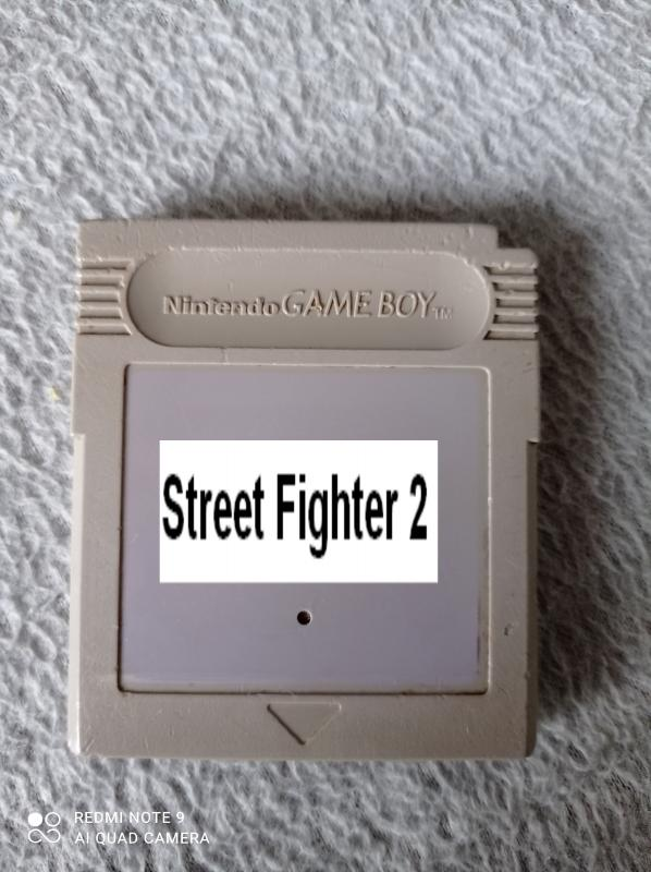 Image article Nintendo - Game boy - Street Fighter 2