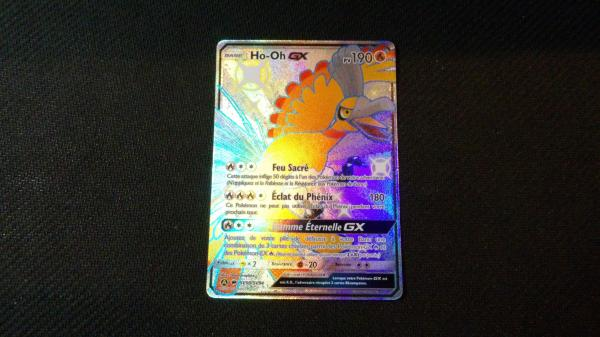 Image article Carte pokémon Ho-oh shiny sv50/sv94 série Destinées Occultes