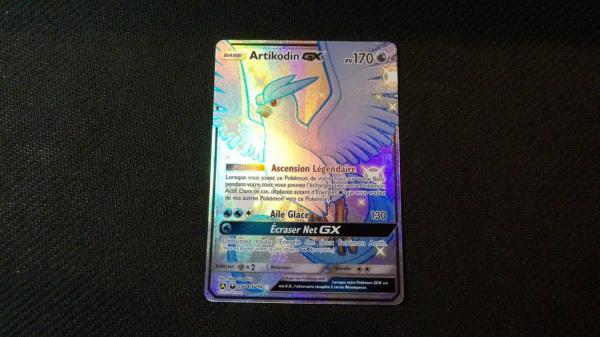 Image article Carte pokémon Artikodin shiny sv54/sv94 série Destinées Occultes