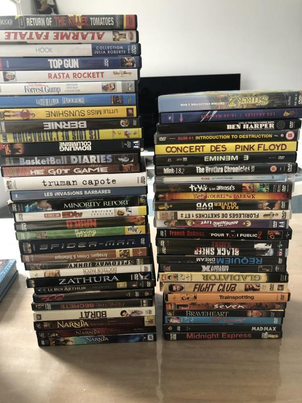 Image article Grand lot dvd