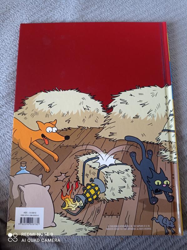 Image article BD - Les Simpson : Un sacré foin - Tome 2