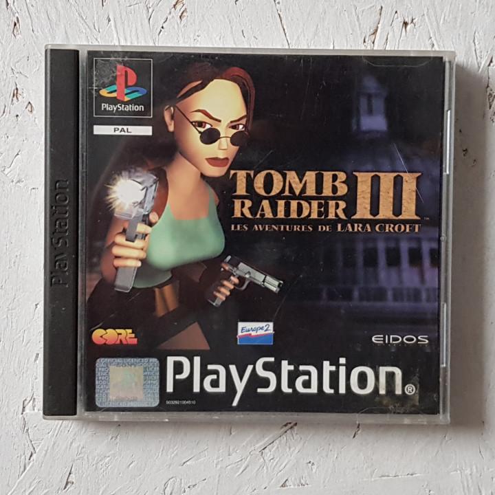 Image article Tomb raider 3 ps1