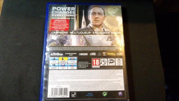 Image article Jeu vidéo PS4 playstation, Call of Duty, complet et fonctionnel.