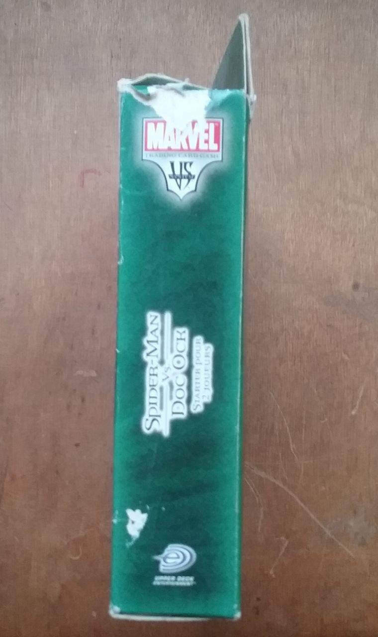 Image article Cartes Spiderman vs Doc Ock starter kit