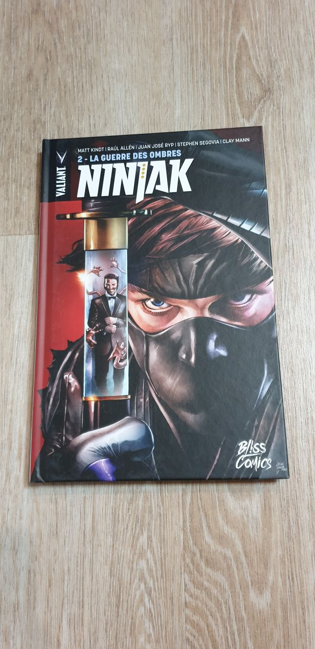 Image article Ninjak tome 2