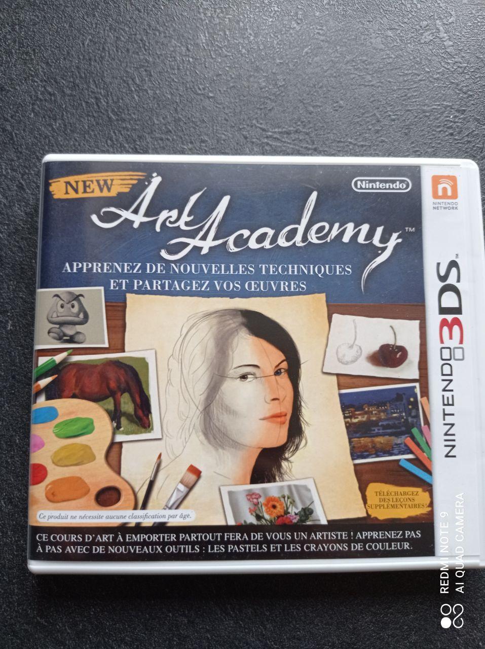 Image article Nintendo - 3DS - New art academy