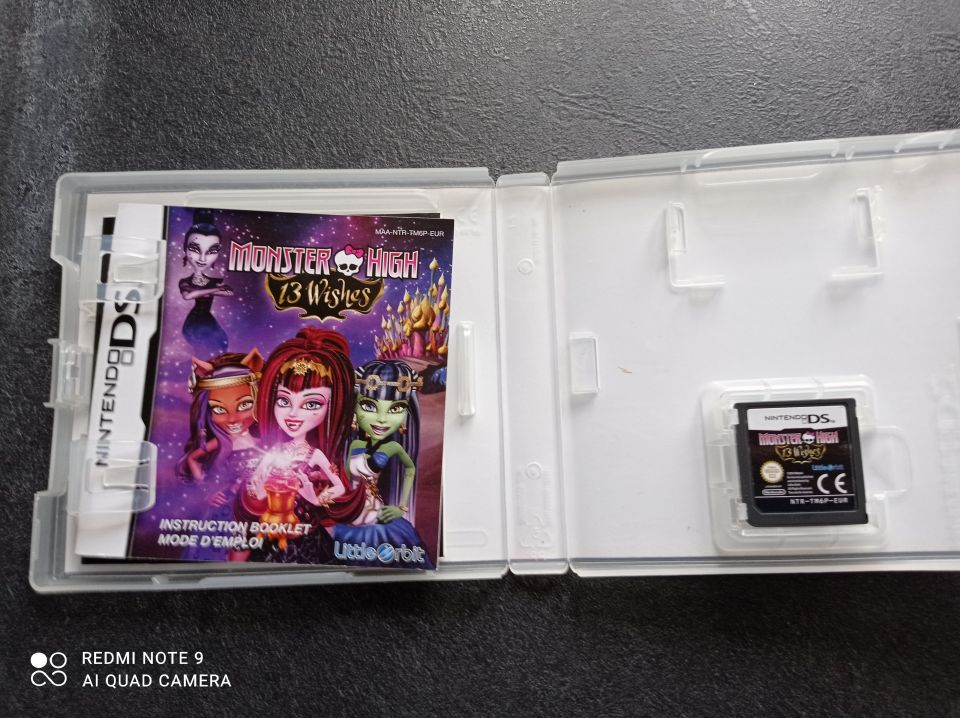 Image article Nintendo - DS - Monster high - 13 souhaits