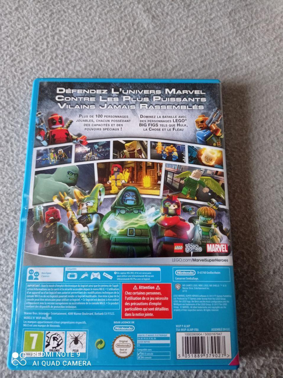 Image article Nintendo - Wii U - Lego Marvel super heroes