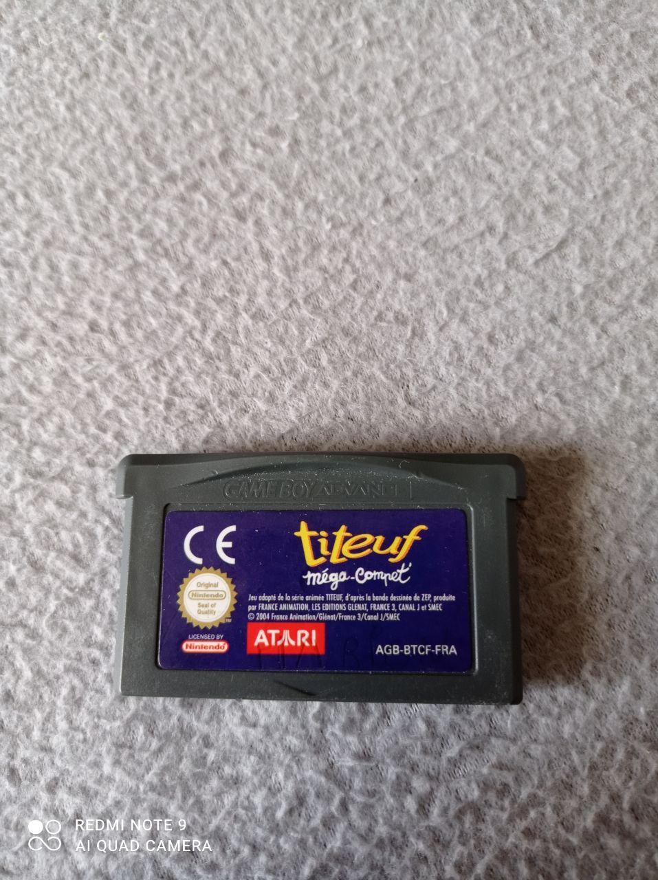 Image article Nintendo - Game boy dvance - Titeuf - Méga-compet'