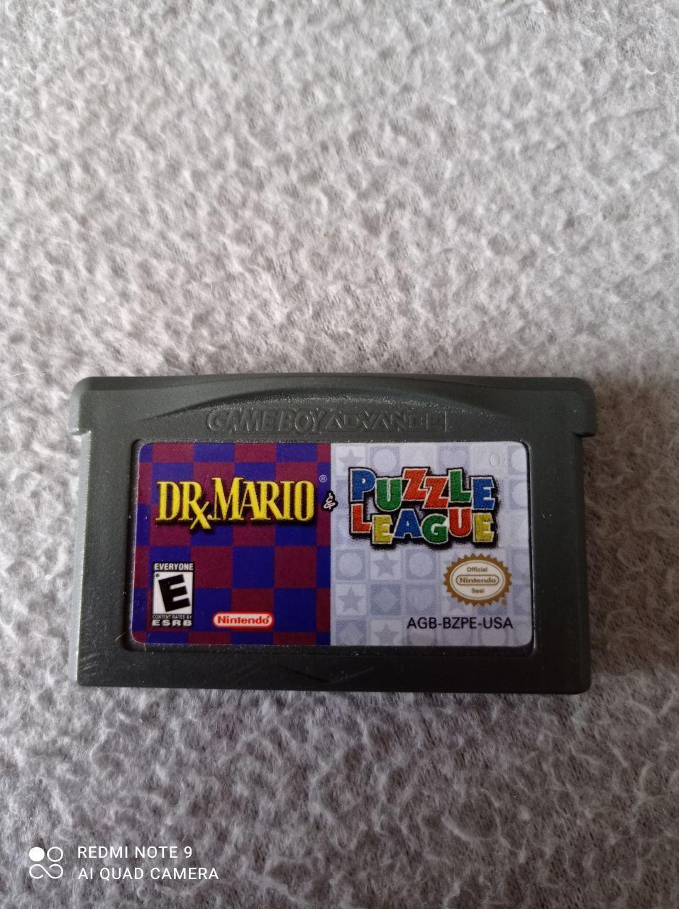 Image article Nintendo - Game boy dvance - Dr Mario & Puzzle League