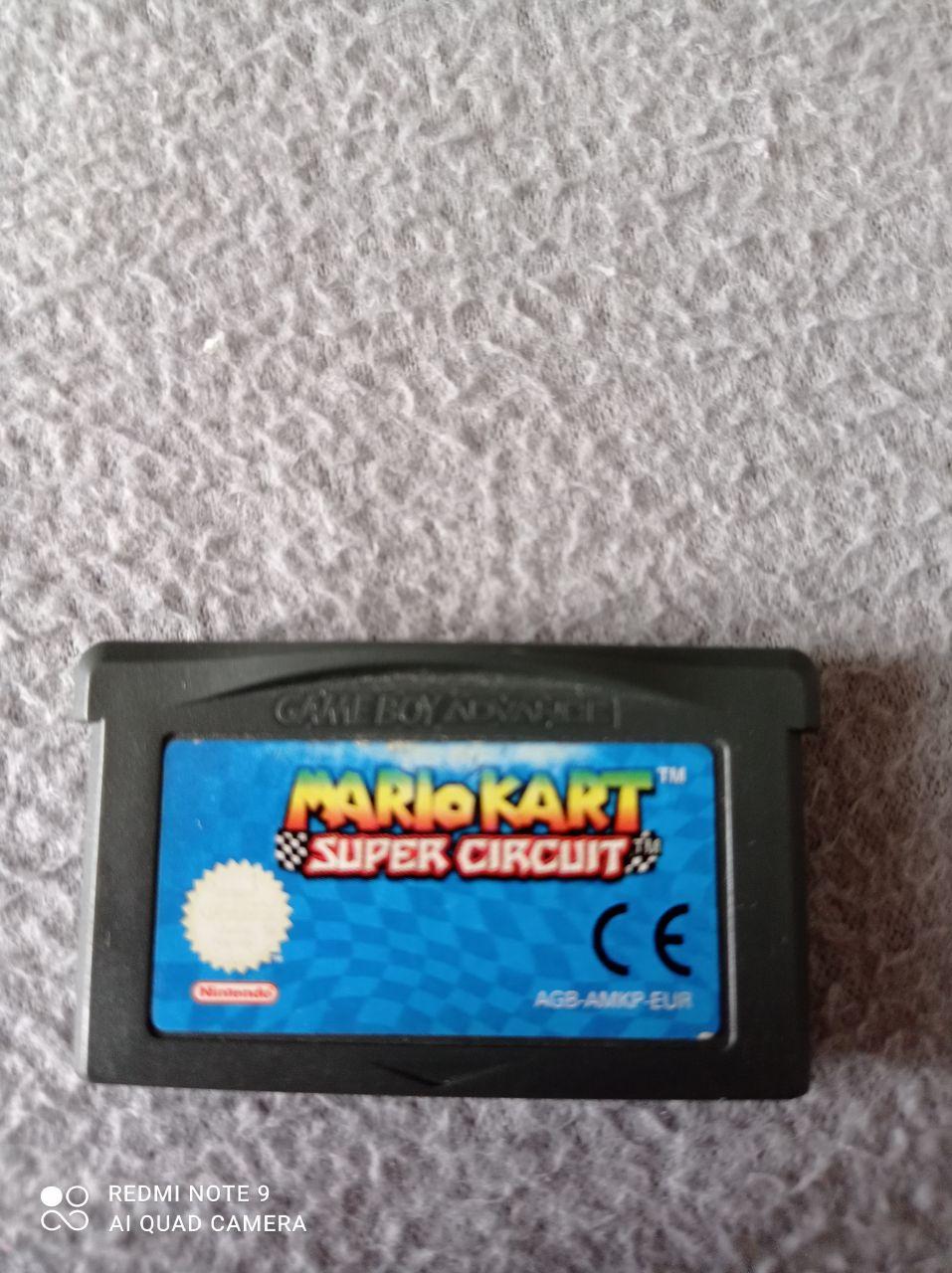 Image article Nintendo - Game boy dvance - Mario Kart