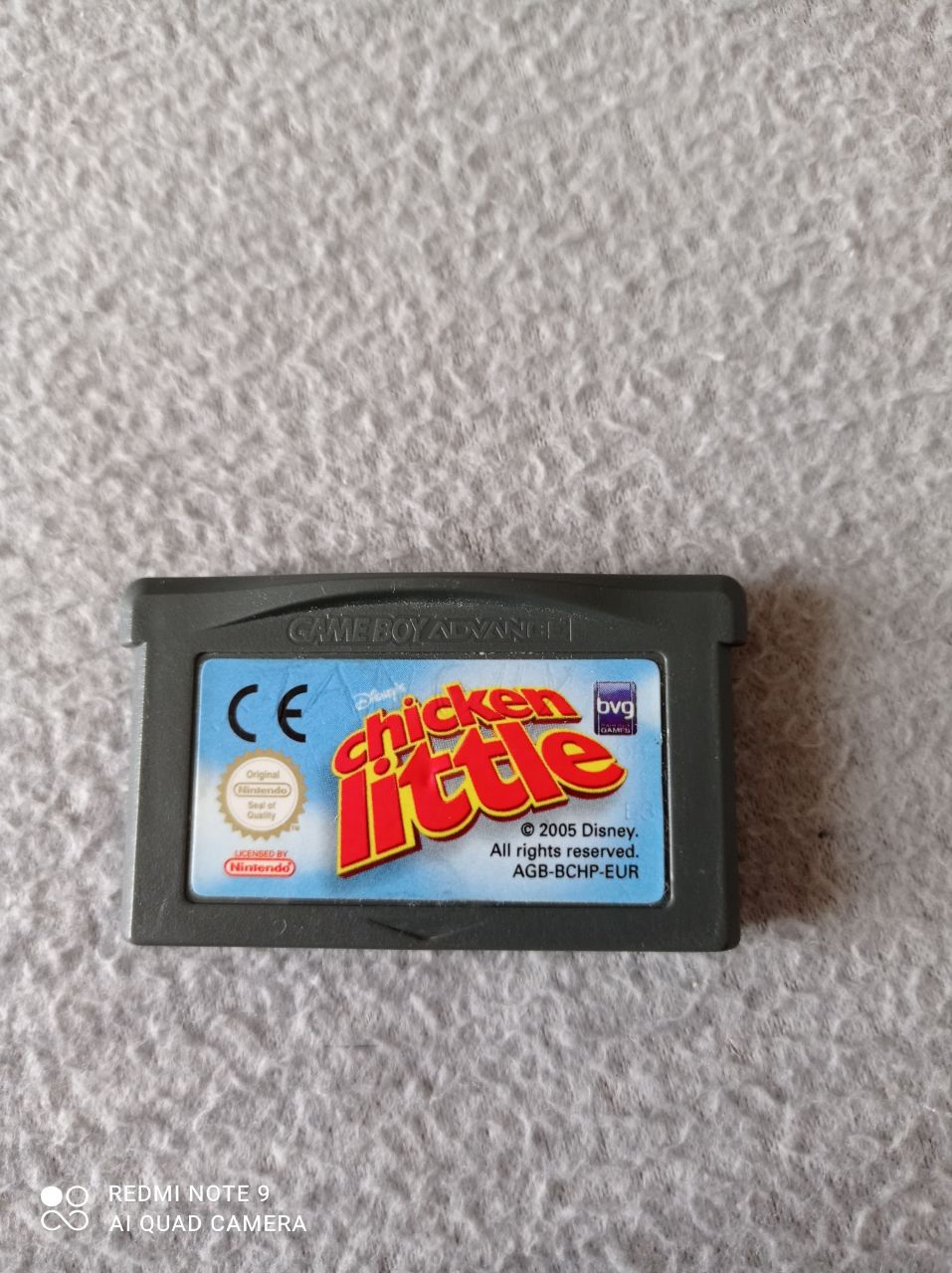 Image article Nintendo - Game boy advance - Chicken little