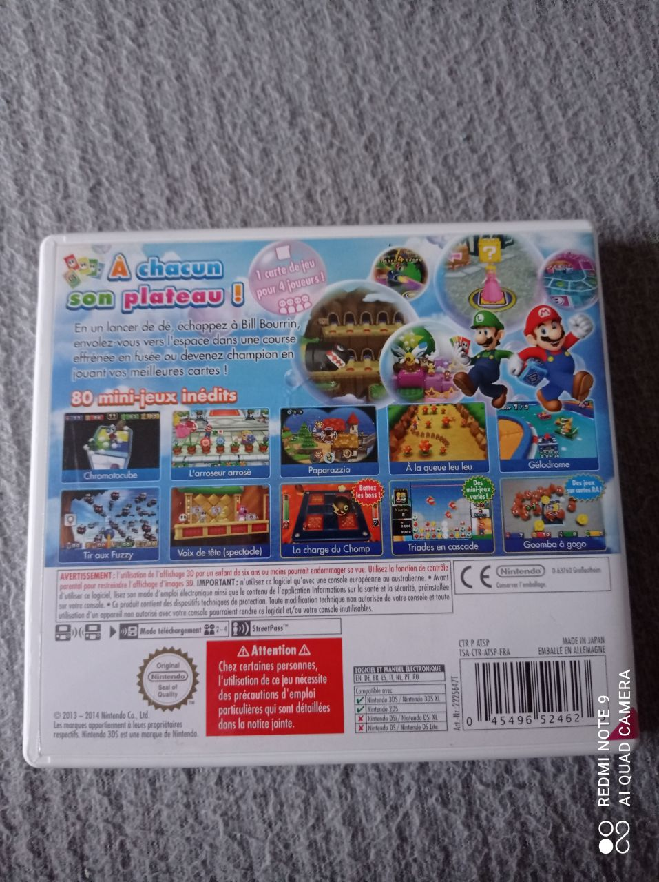 Image article Nintendo - 3DS - Mario party - Island tour