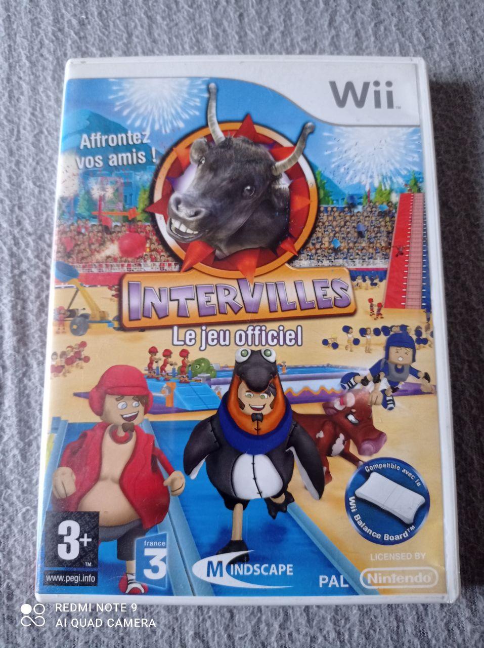 Image article Nintendo - Wii - Intervilles - Le jeu officiel