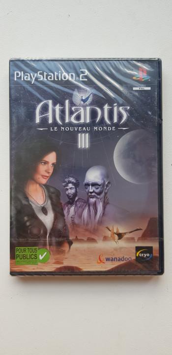 Image article Atlantis III ps2 (neuf)