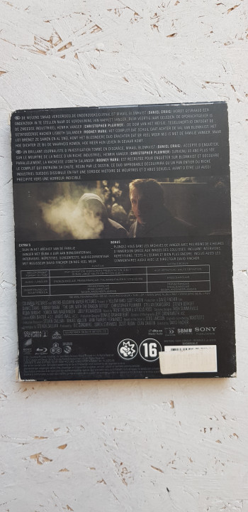 Image article The Girl Dragon Tattoo - Blu-Ray