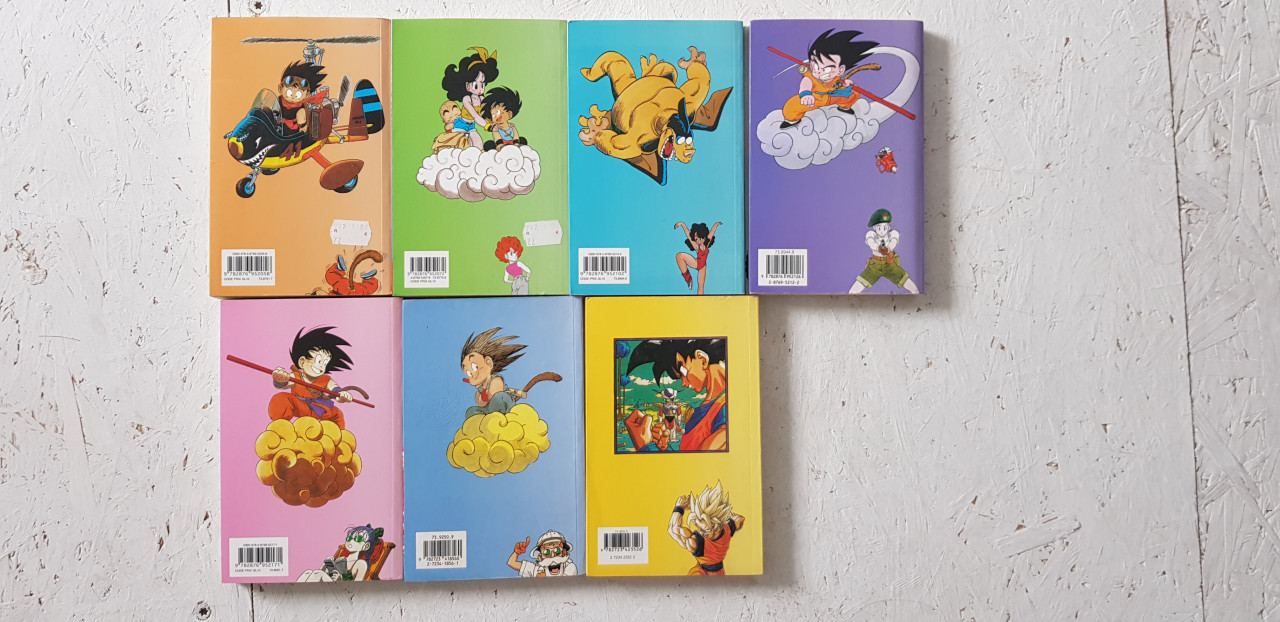 Image article Lot manga Dragon ball