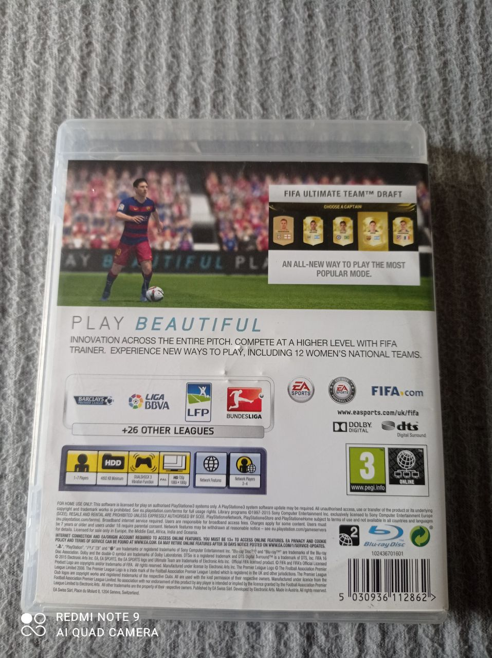 Image article Sony - Playstation 3 - Fifa 16