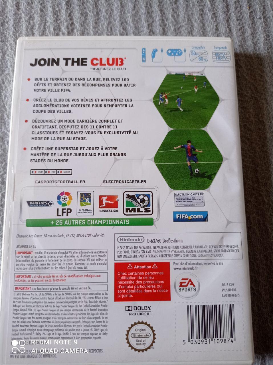Image article Nintendo - Wii - Fifa 13