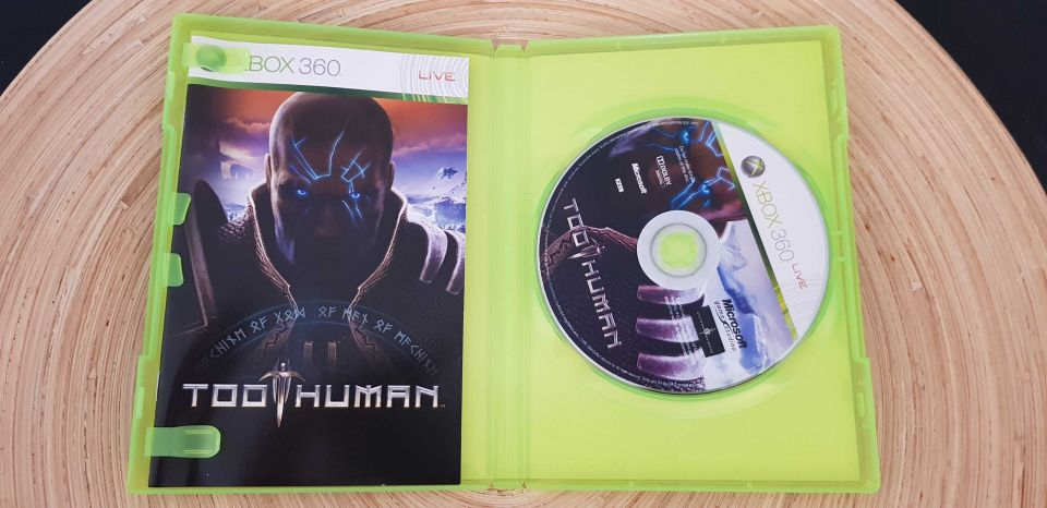 Image article TOO HUMAN xbox 360