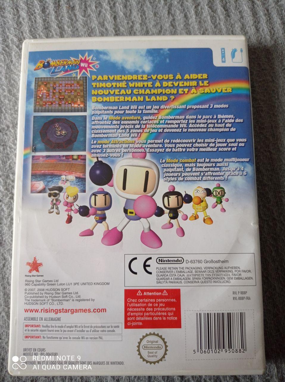 Image article Nintendo - Wii - Bomberman Land Wii