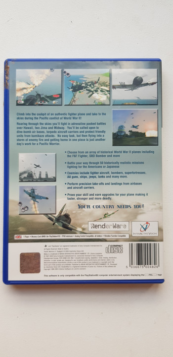 Image article Pacific Warriors 2 - ps2