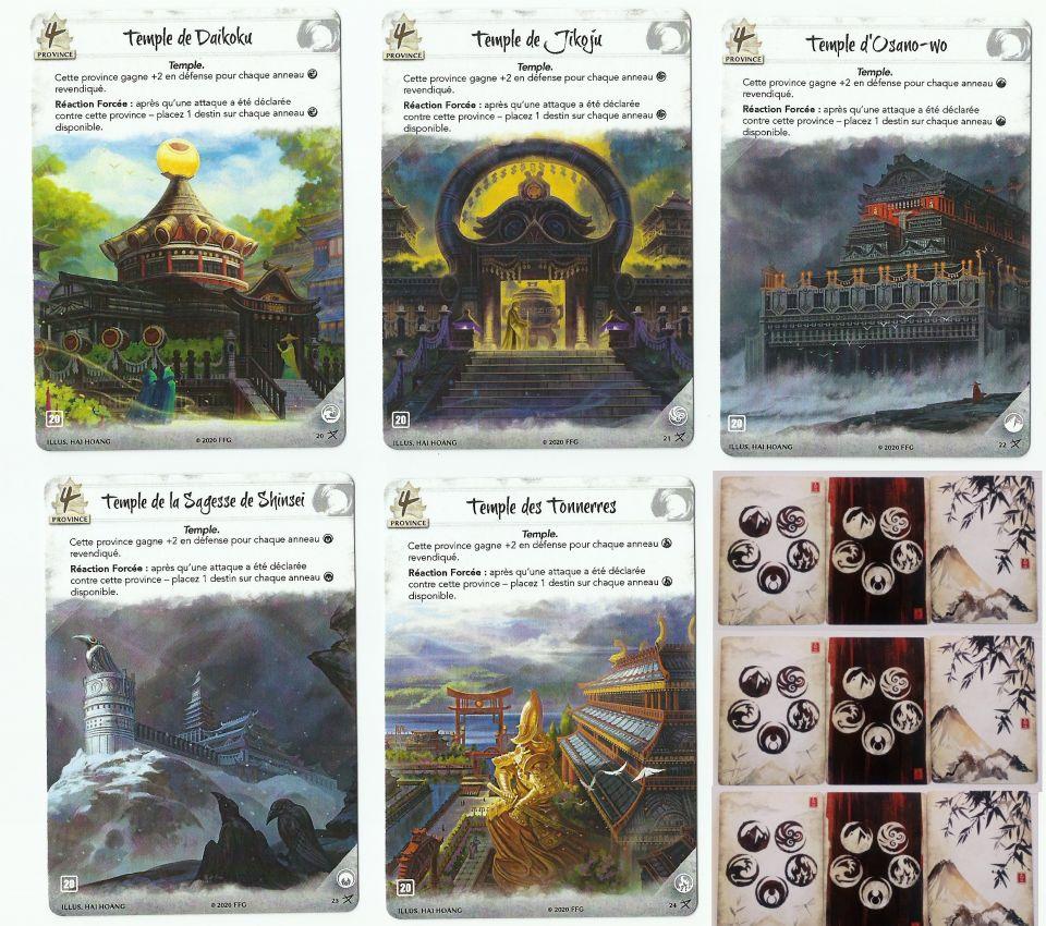 Image article 36 Cartes Neutres Legend of the Five Rings Promo Full & Alt Art L5R LCG