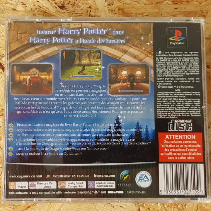 Image article Harry potter l'école des sorcier ps1