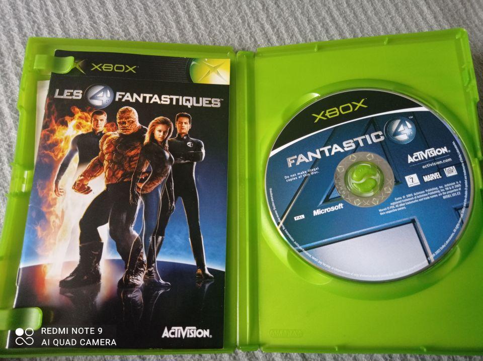 Image article Microsoft - Xbox - Les 4 fantastiques