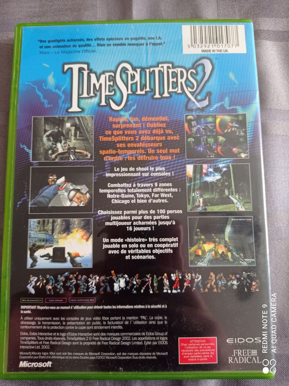 Image article Microsoft - Xbox - Time Splitters 2