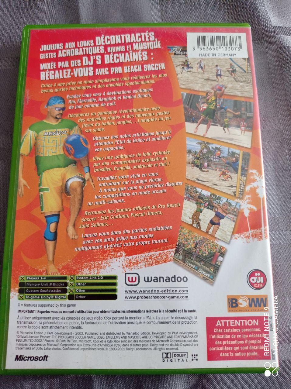 Image article Microsoft - Xbox - Pro beach soccer