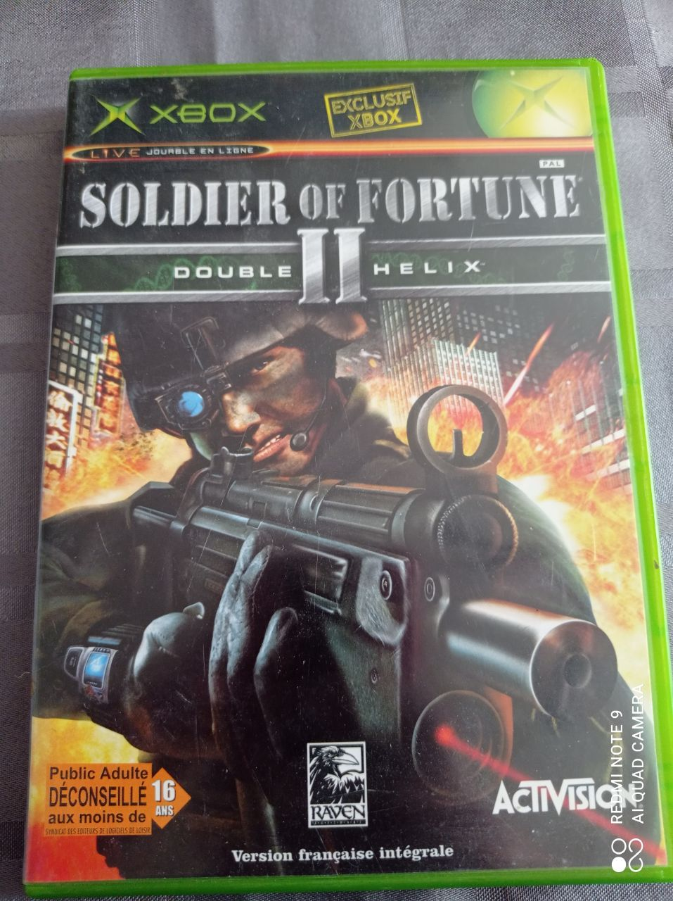 Image article Microsoft - Xbox - Soldier of fortune II Double Helix