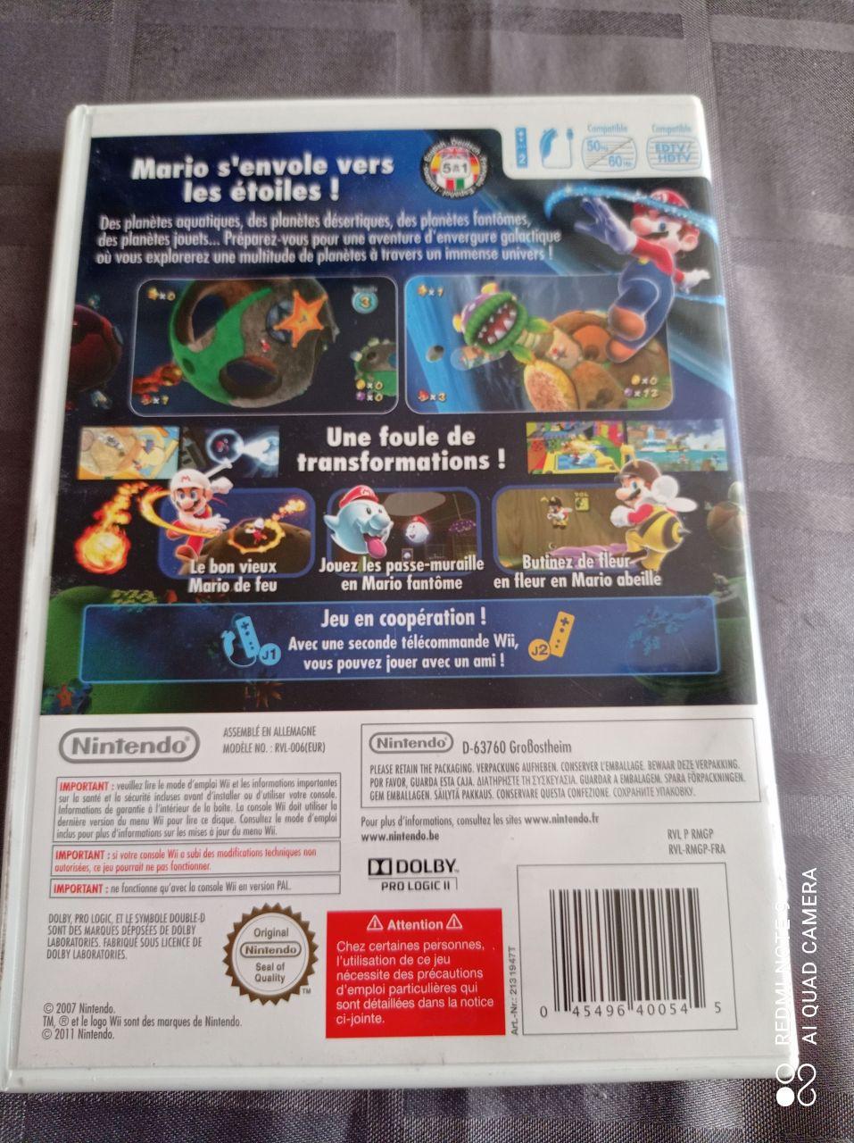 Image article Nintendo - Wii - Super Mario galaxy