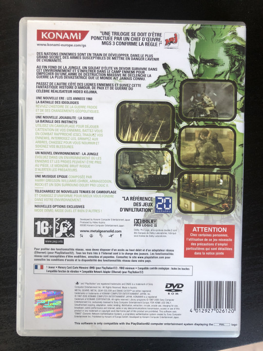 Image article Metal Gear Solid 3
