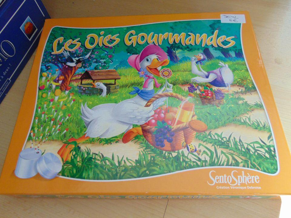 Image article JE42 - Les oies gourmandes