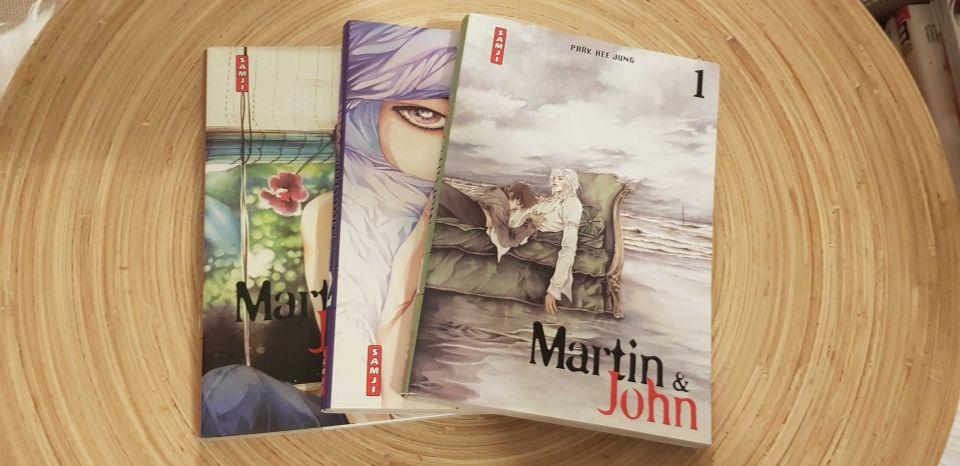 Image article Martin & John ! - 3 tomes