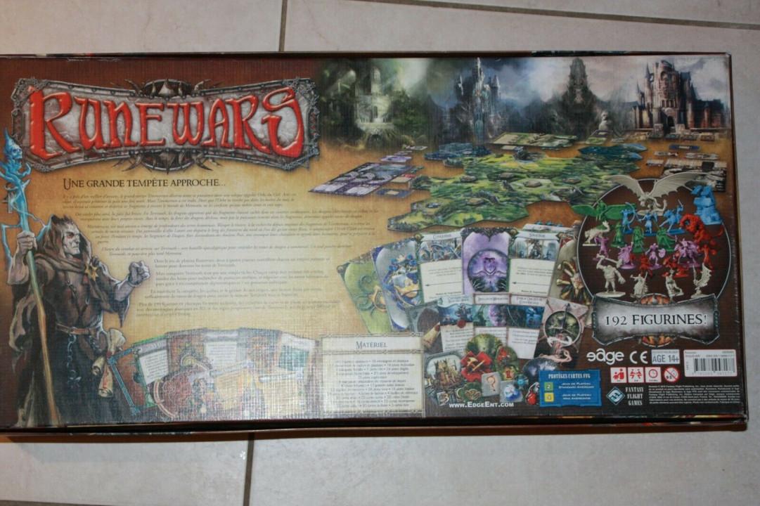 Image article RUNEWARS Jeu de Plateau 1st Édition ( style imperial terra great ) Boardgame ash