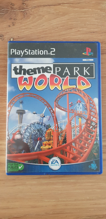 Image article Thème park world ps2