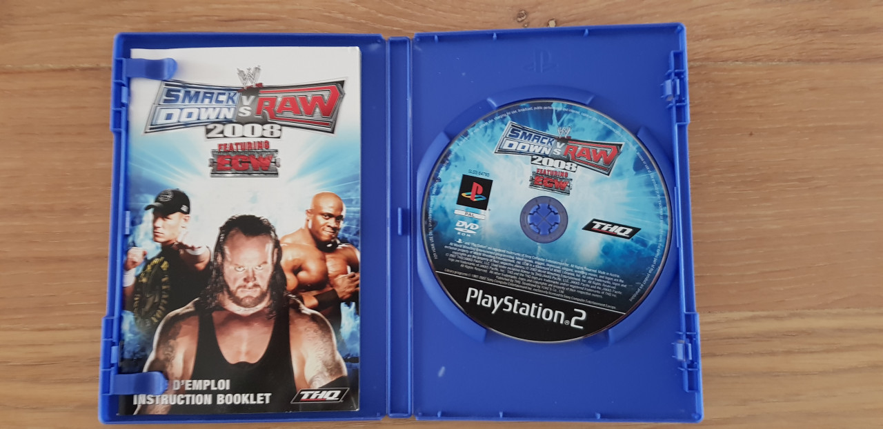 Image article Smack down vs Raw ps2