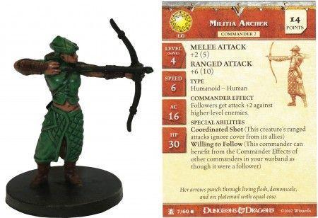 Image article Militia Archer #07 Desert of Desolation