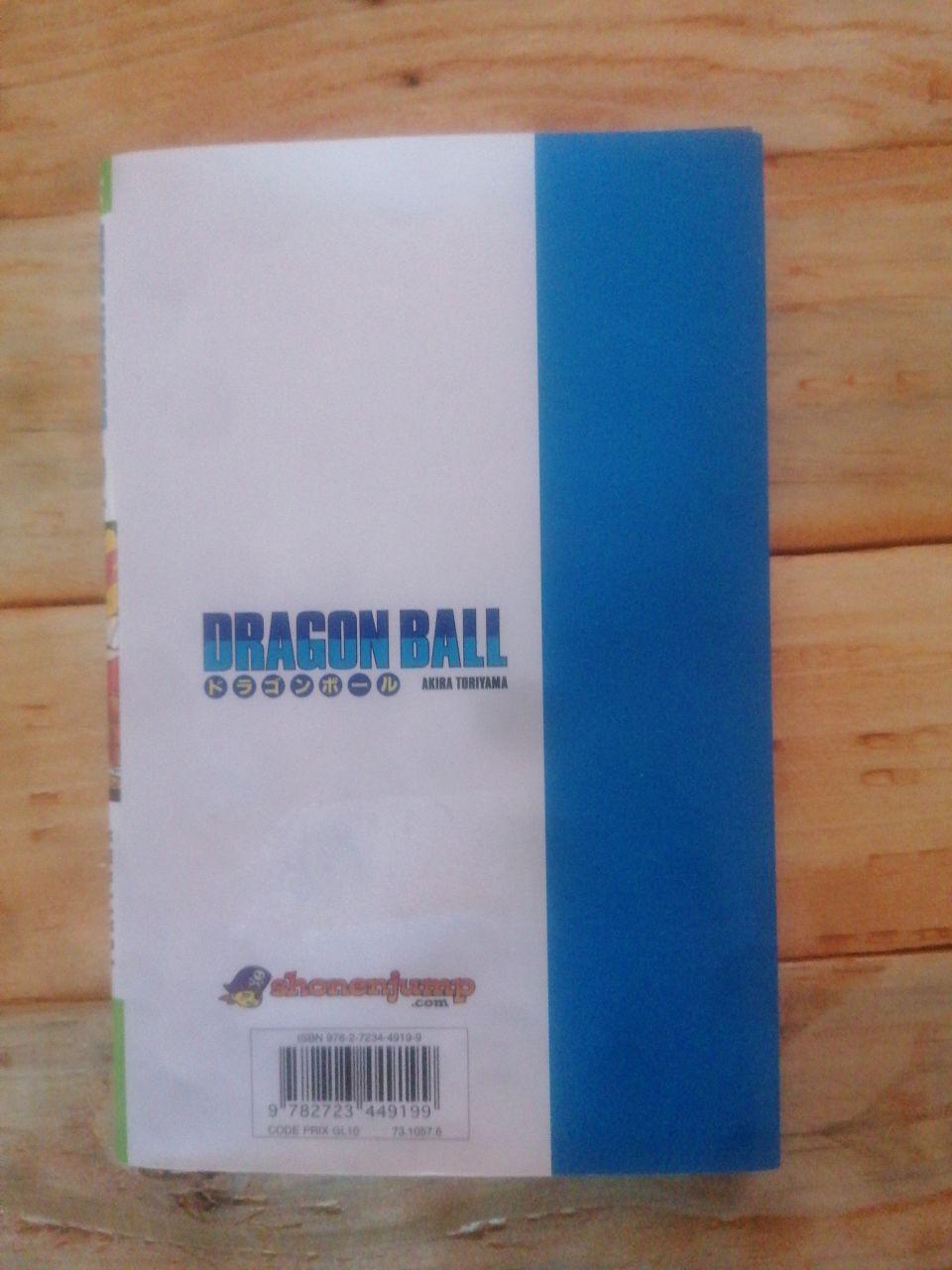 Image article Dragon ball tome 22 édition glénât